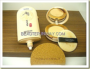 Tony Moly Hooyeon Bb Cream & Powder Anti-aging and whitening