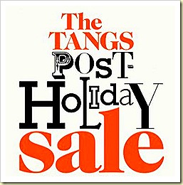 Tangs Post Christmas Sale