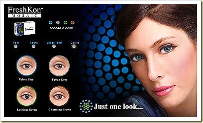 FreshKon Mosaic Lenses