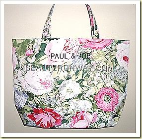 Paul & Joe tote bag floral spring 2011