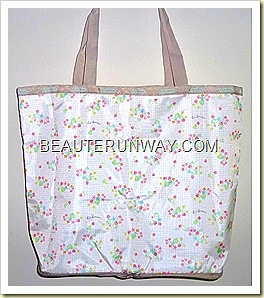 LeSportsac  tote bag berry blossom emook Spring Summer 2011