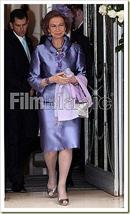 QUEEN SOFIA OF SPAIN WORE JIMMY CHOO 247 CARA IN SILVER
