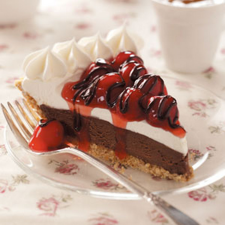 Black Forest Freezer Pie
