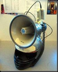 Helmet loudspeaker