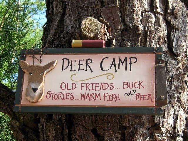 Deer Canister Set >> Country Fried: Deer Camp Signs