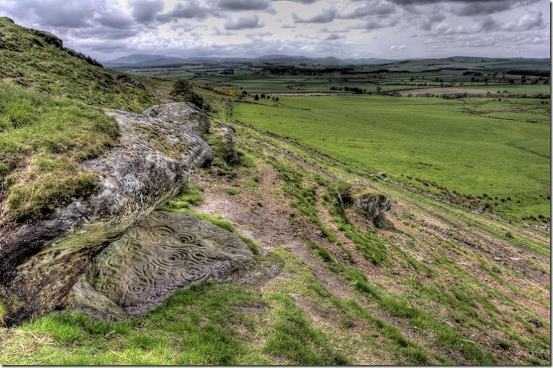 northumbrian rock art at ketley Crag