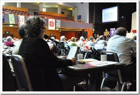 methodist conference interpreter for world church representatives