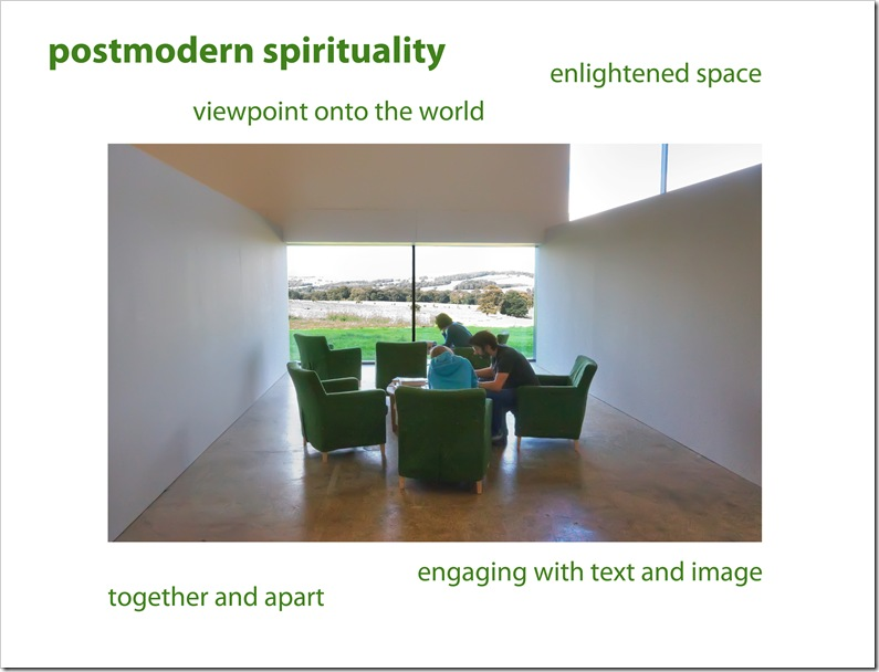 a snapshot of postmodern spirituality