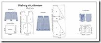 moldes disfraz de pitonisa 1