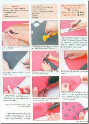 disfraz de mariquita sencillo (3)