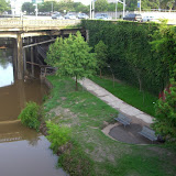 Buffalo Bayou under Smith St.
