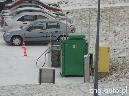 Stacja CNG w Kielcach - koniec tankowania gazu ziemnego?