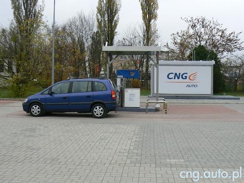 PSG - Stacja CNG w Olsztynie