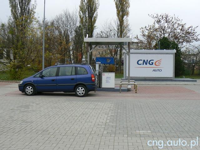 Zamknięta stacja CNG w Olsztynie