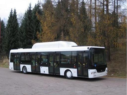 SOR NGB 12 - miejski autobus z napędem na gaz ziemny (CNG)