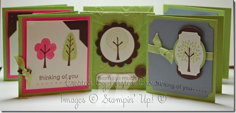 trendy trees cards