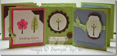 trendy trees cards