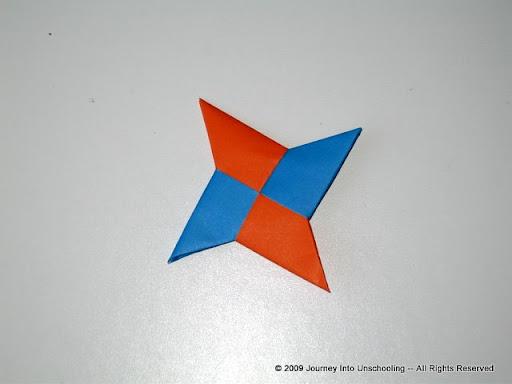 NINJA STARS ORIGAMI