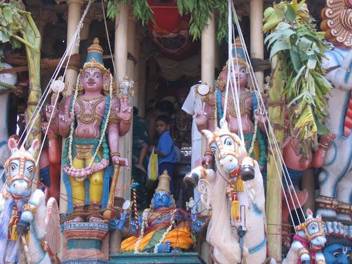 Car Festival Triplicane Lord Shree Parthasarathi
