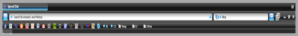 bookmarks bar shown