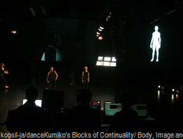 koosil-ja/danceKumiko's Blocks of Continuality/ Body, Image and Algorithm