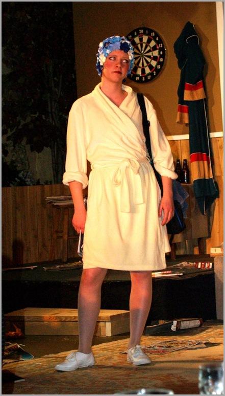 #7 FORMER BEAUTIFUL DOLL IN bathrobe