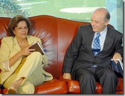 Dilma e Serra