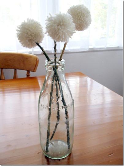 Pompom flowers