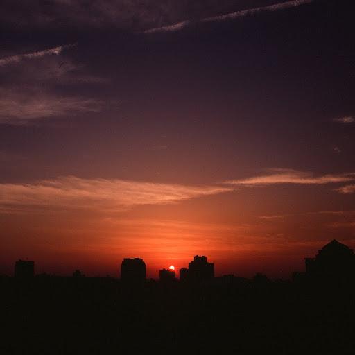 從學校頂樓拍夕陽_RVP100