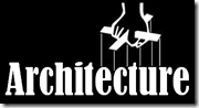 Architecture can be used to manipulate. It is critical to keep efforts open and the consortiums diverse. (Puppeteer's hand image credit The Godfather logo)