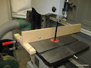 General Purpose bandsaw fence with shim-able face