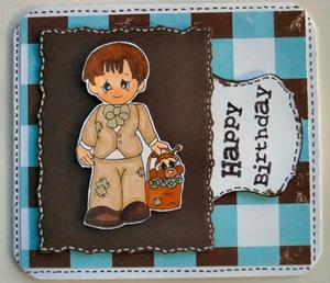 10810 Happy Birthday Boy Sewn Together