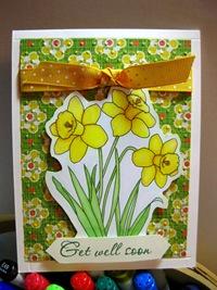123009 M&M Daffodils Get WEll Soon