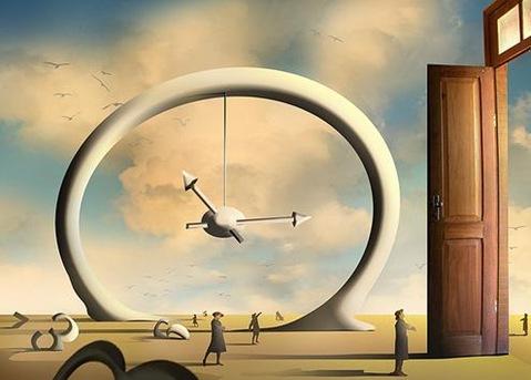 A porta, o tempo e o espaço