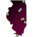 Illinois Fishing Maps - 6.1K icon