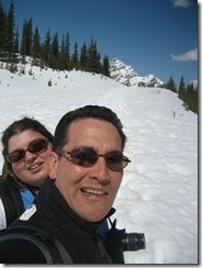 hike to peyto lake -- big hill photo 5