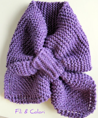 FREE BOW TIE SCARF PATTERN - Lena Patterns