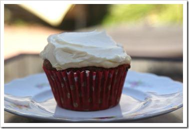 Chocolate Beet Cupcake
