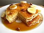 Banana Buttermilk Pancakes