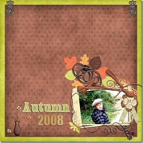 Collab - Autumn Garden - Melissa Bennett & Amy Stoffel