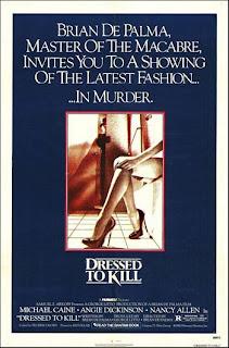 Vestida para Matar dressed to kill poster