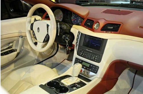 Interior Maserati