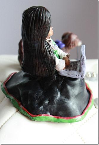 moderne kakepynt