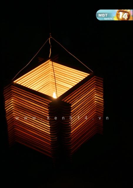 Hướng dẫn cách làm lồng đèn trung thu