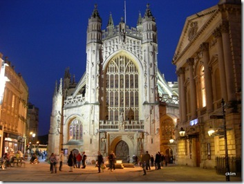 Night view at Bath