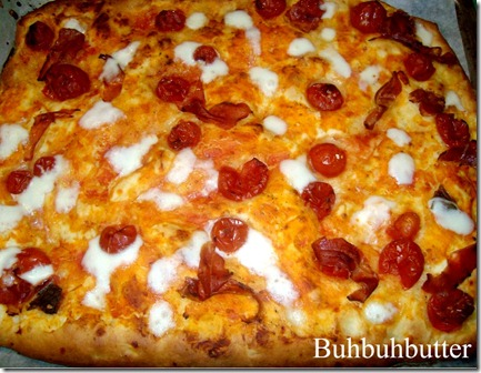 pizza pomoorini prosciutto