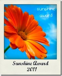 sunshine Award 2010