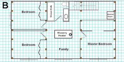 Initial plan for basement