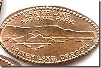 Crater Lake penny