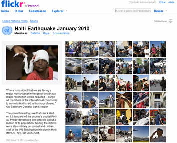 Terremoto no Haiti em 2010 (ONU no Flickr)